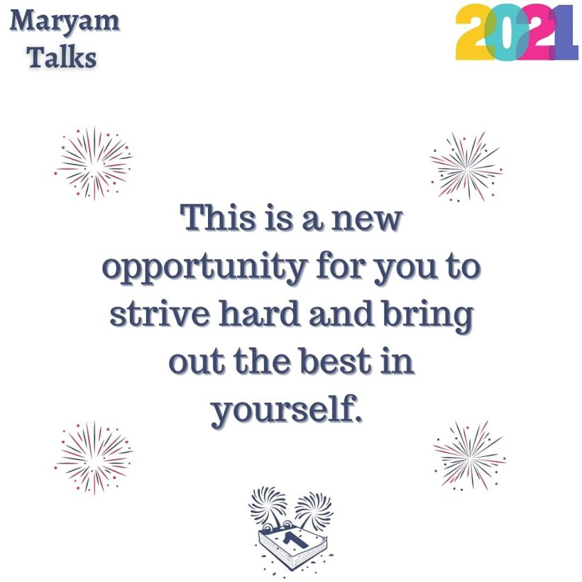 Motivation for 2021