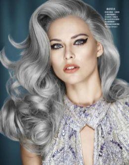 Gray-hair-vintage-roll-curls
