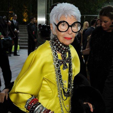 Åsså 93-åriga Iris Apfel såklart
