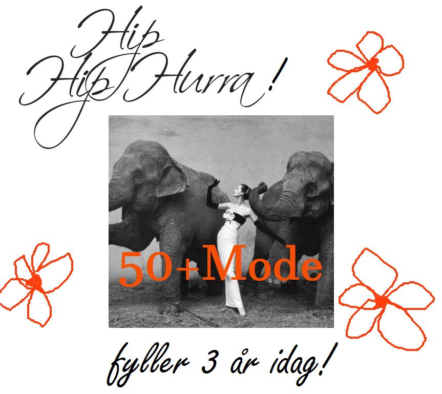50+Mode fyller 3 år!