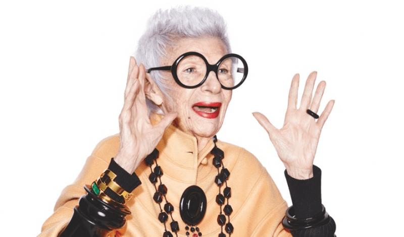 Iris Apfel, andra stilikoner och stylingtips