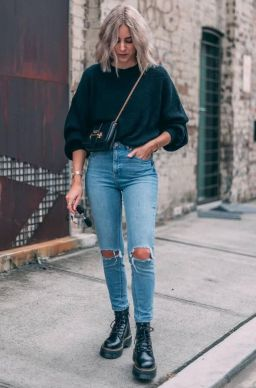 7 Best Combat Boots Styles - What to Wear with Combat Boots - Her Style Code