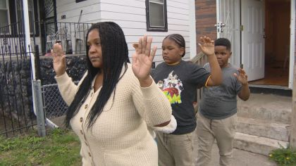 Chicago Police traumatizing innocent children with wrong raids!