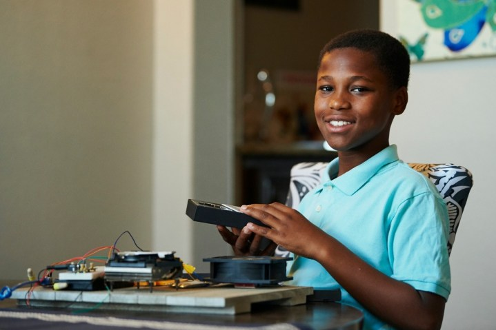 Young inventor, Bishop Curry Raises almost $50,000 to Help Develop a Device to Stop Hot-Car Deaths