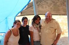 Yona Lazar, Monica Enehaug, Einat Gavra, and Kent Fowler, Area E 2013