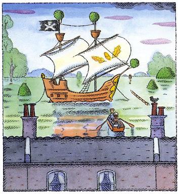 Flood illustration