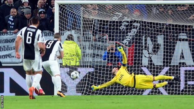Tottenham are the first team to concede two first-half penalties in the Champions League knockout stages since AC Milan in April 2012 against Barcelona.
