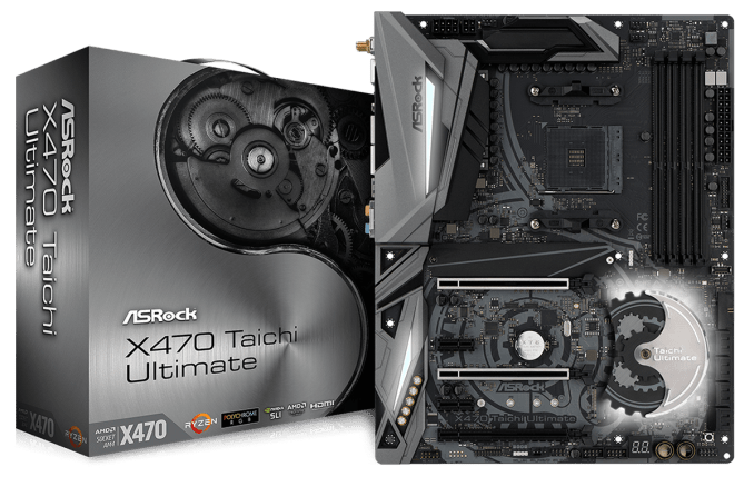 The ASRock X470 Taichi Ultimate Motherboard Review: Aquantia 10GbE