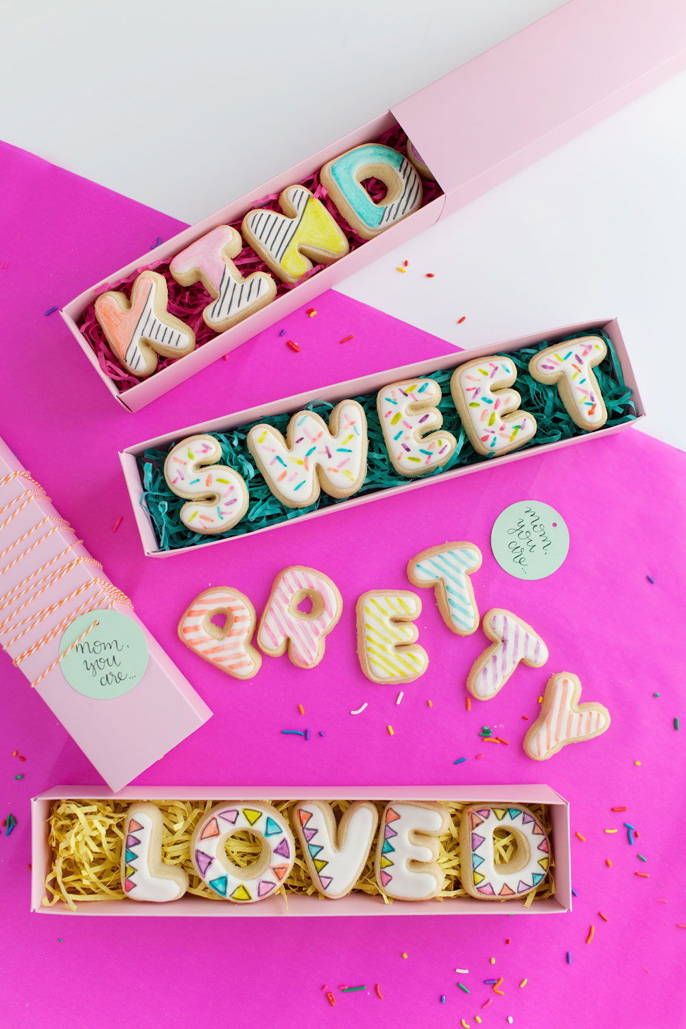 MOTHERS DAY COOKIE CARDS Tell Love And Party