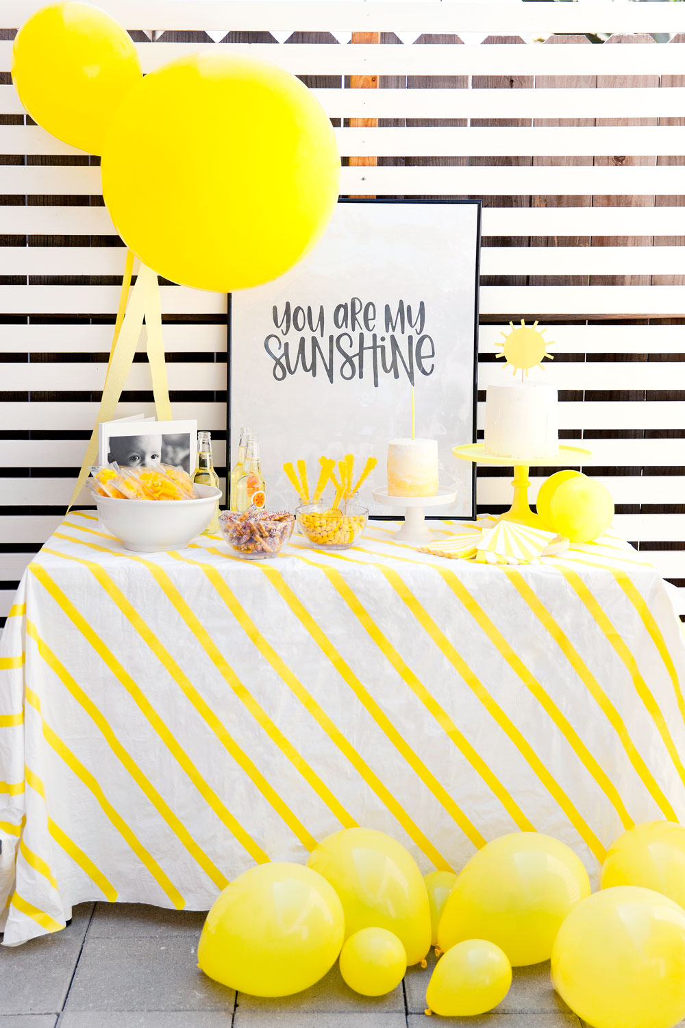 Sunshine Birthday Party Tell Love And Party