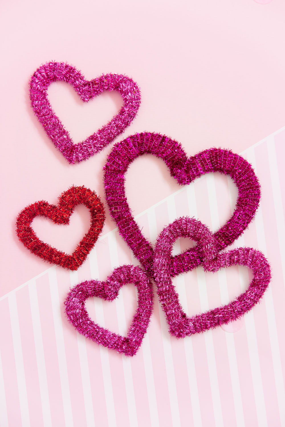 DIY PIPE CLEANER HEARTS Tell Love And Party