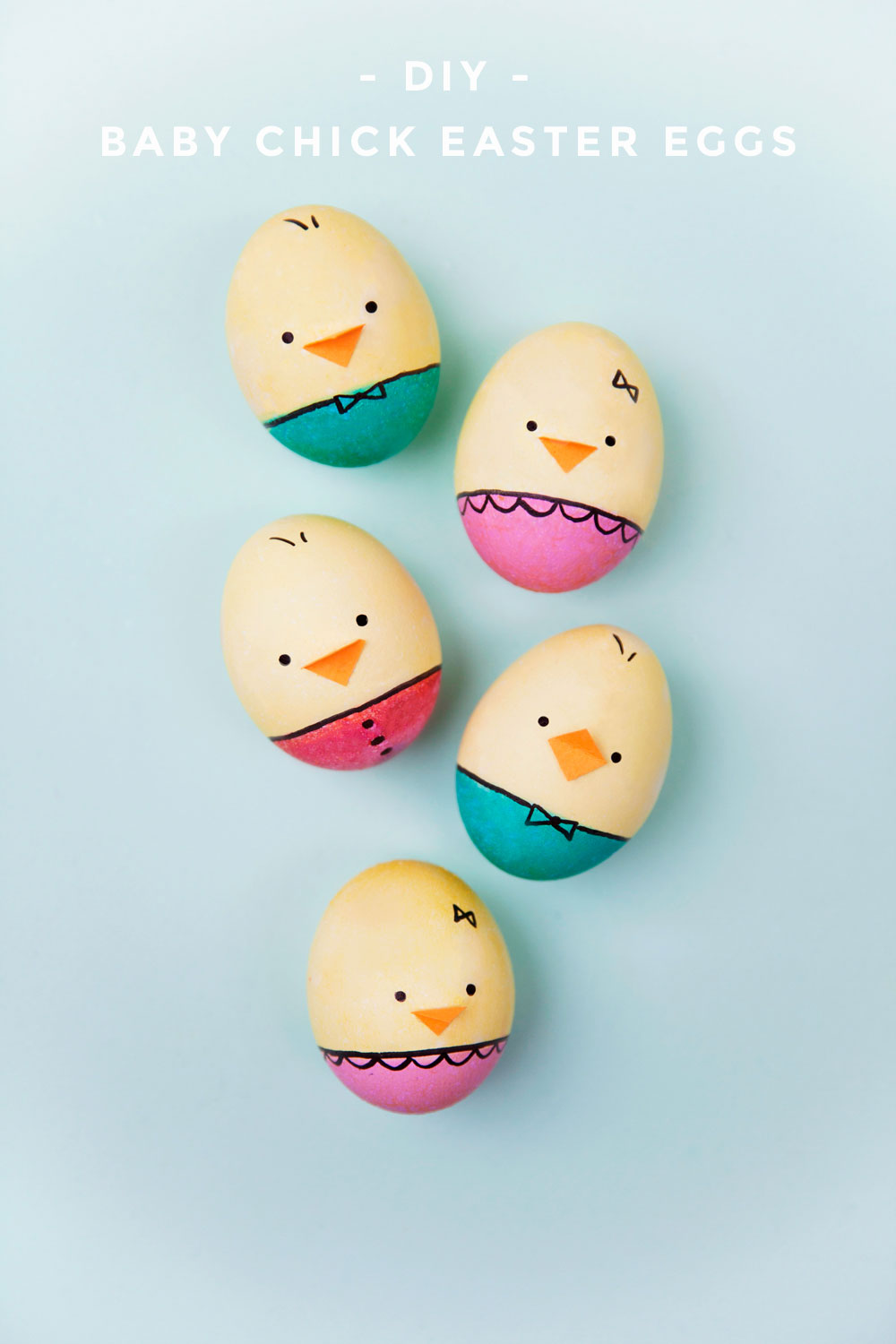 Diy Baby Chick Easter Eggs Tell Love And Party