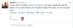 EDL Leader Mosque attacks