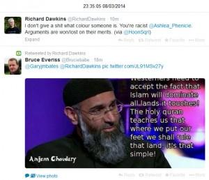 Anjem Choudhary Dawkins