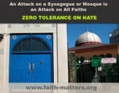 Zero Tolerance Graphic Against Anti-Muslim Hate/Antisemitism