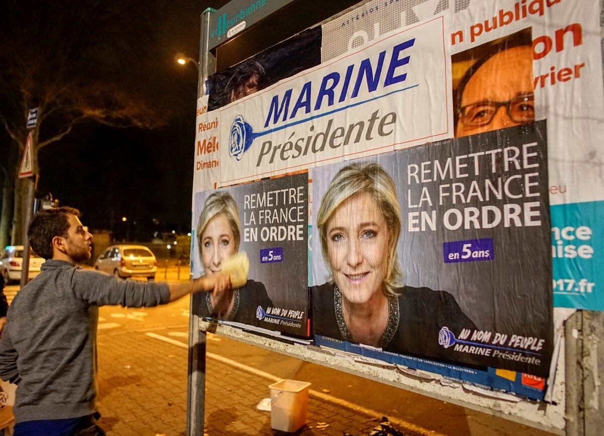 No more baseball bats – National Front no longer taboo for French youth