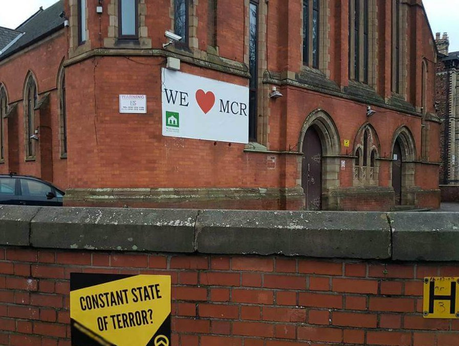 Generation Identity England tried to intimidate Didsbury Mosque but got mocked instead