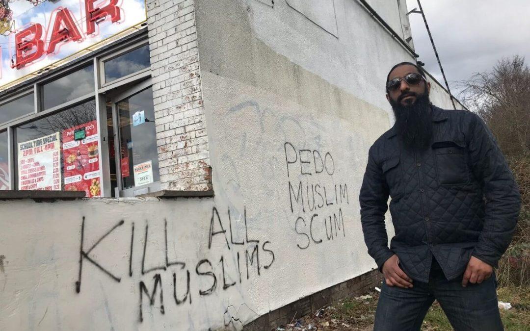 Anti-Muslim Graffiti in Birmingham Threatens Harm to Muslims