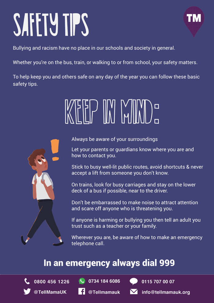 Safety Tips for Young People