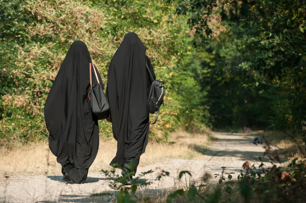 """Muslim woman in niqab told """"there was no need for al-Qaeda in the area"""""""