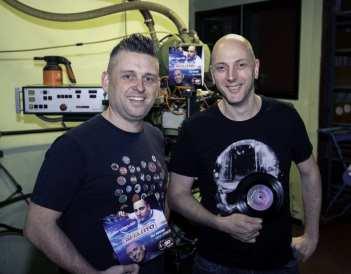 DJ Ward en DJ Jan Vervloet