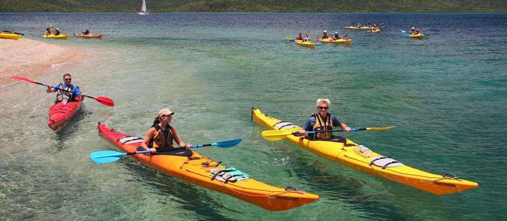 Kayaking activities in Whitsundays