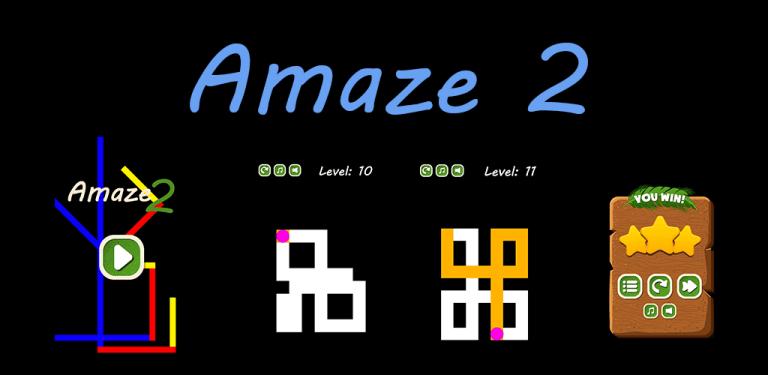 Amaze 2 Puzzle Game