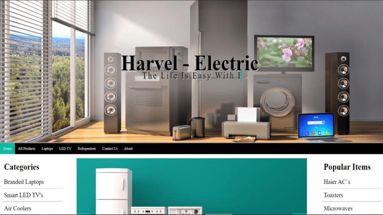 Harvel Electric Website