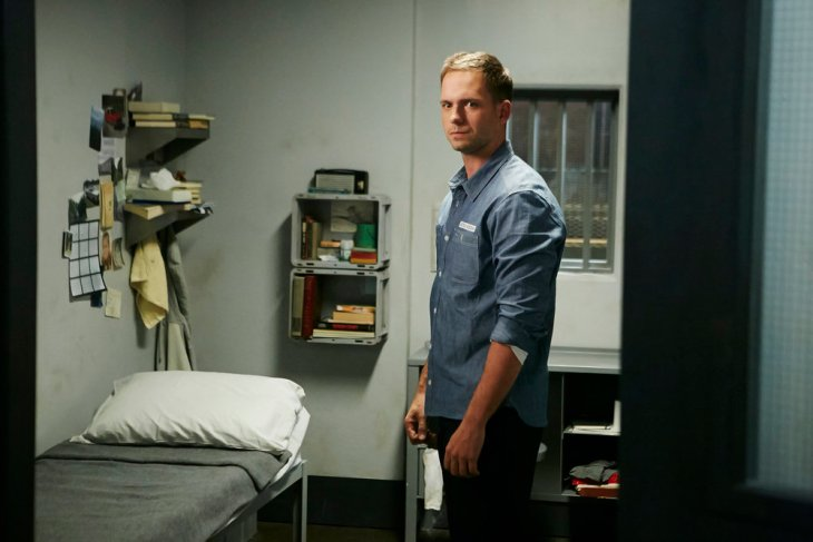 """SUITS -- """"To Trouble"""" Episode 601 -- Pictured: Patrick J. Adams as Michael Ross -- (Photo by: Ian Watson/USA Network)"""