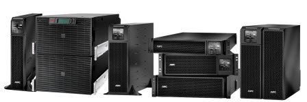 Examples of various Uninteruptable Power Supplies (UPS)