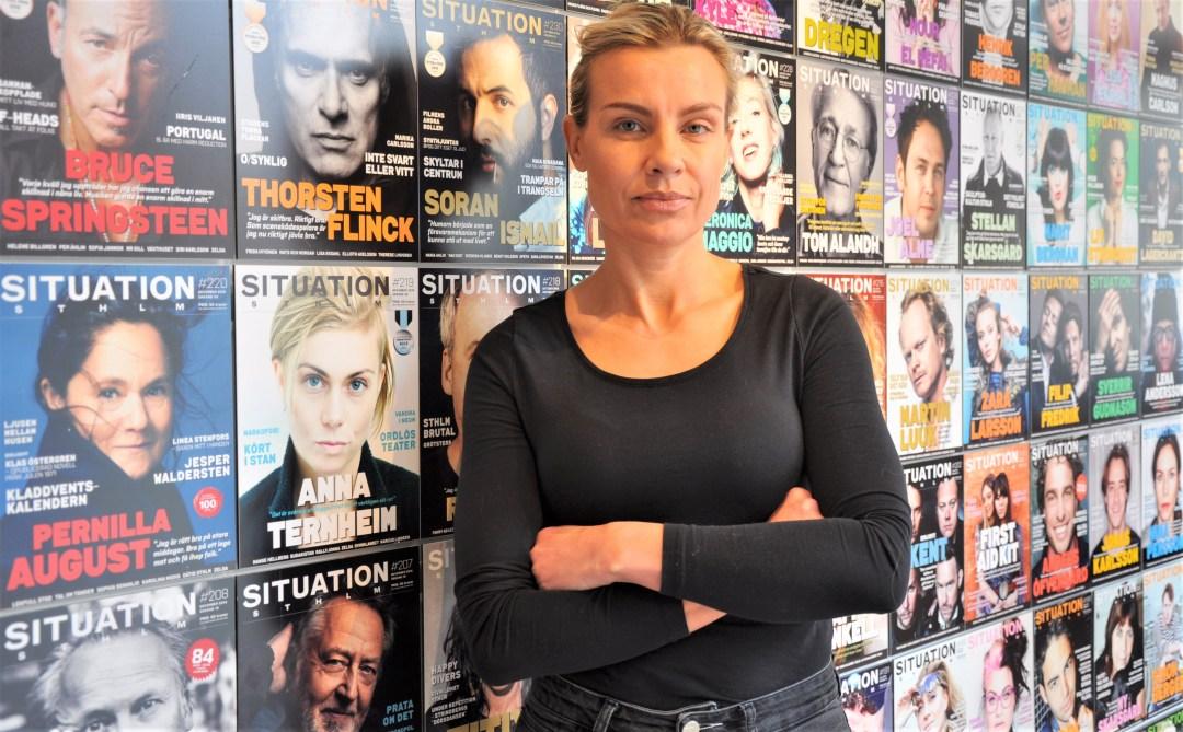 Jenny Lindroth, Situation Stockholm. Foto: Bettina Bäck