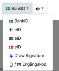Signeringsalternativ