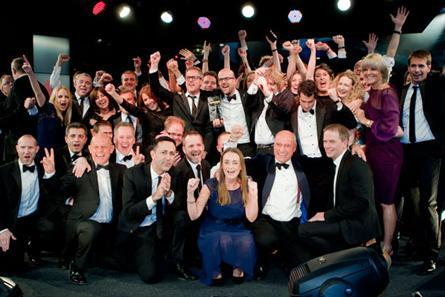 ITV Sales team winning at Media Awards using TellyJuice Video Showreels