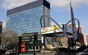 Image of Old Street Sillicon Roundabout for use on the Telly Juice Video Production Company website