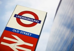 Image of Old Street Underground Sign for use on the Telly Juice Video Production Company website