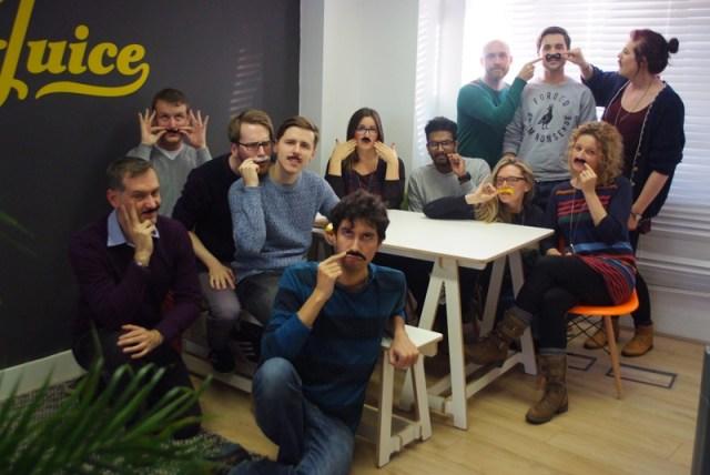 Team photo for Movember