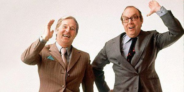 Eric Morecambe and Ernie Wise45695TV...Eric MorecombeErnie Wise