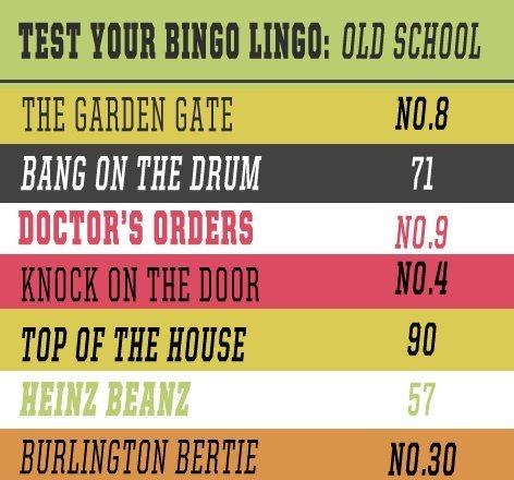 TEST YOUR BINGO LINGO