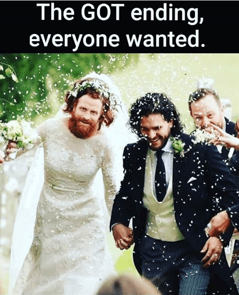 The GOT ending everyone wanted