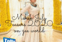 Mehek July Teasers 2020 on zee world