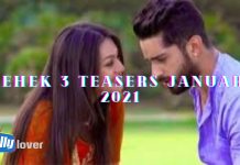 Mehek 3 Teasers January 2021 Zee world