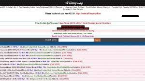 Afilmywap 2021 Download Latest HD MP4 Movies - Afilmywap.in