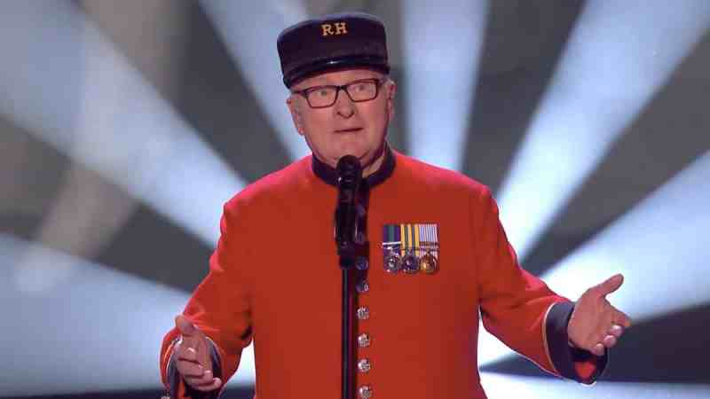 Colin Thackery performs on Britain's Got Talent 2019 third live semi-final