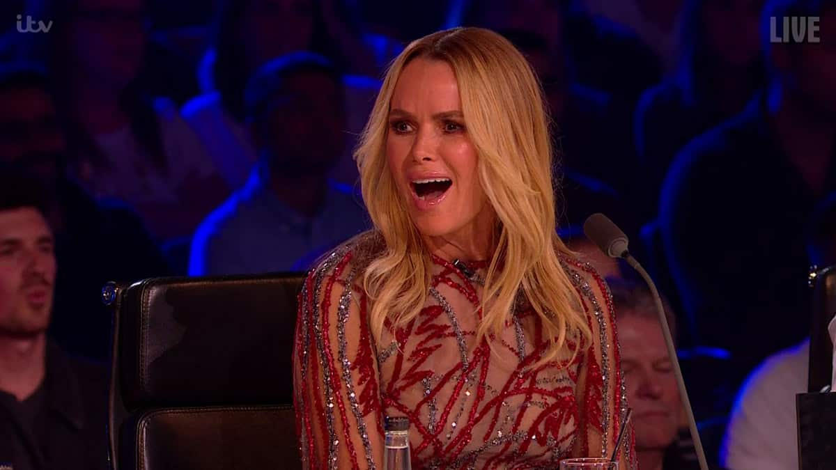 Britain S Got Talent S Amanda Holden Reacts To Complaints About Her Inappropriate Dresses Britain S Got Talent 2020 Tellymix