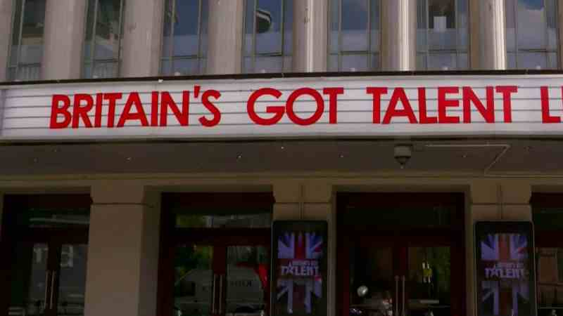 Britain's Got Talent 2019 live shows - Hammersmith Apollo sign