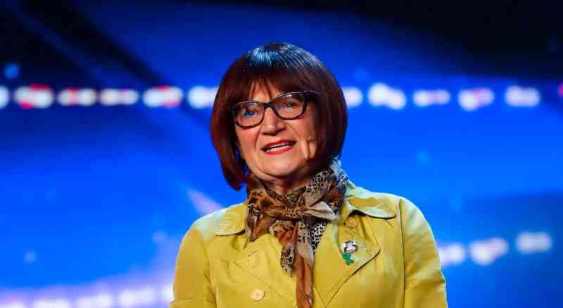 Comedian Barbara Nice.