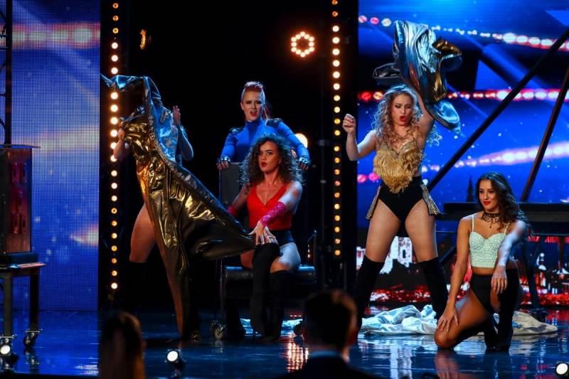 Magic dance group Angels Inc