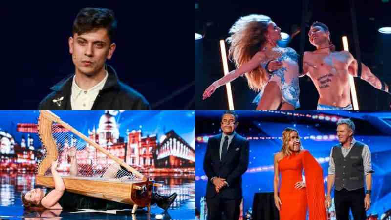 britains got talent line up tonight thursday