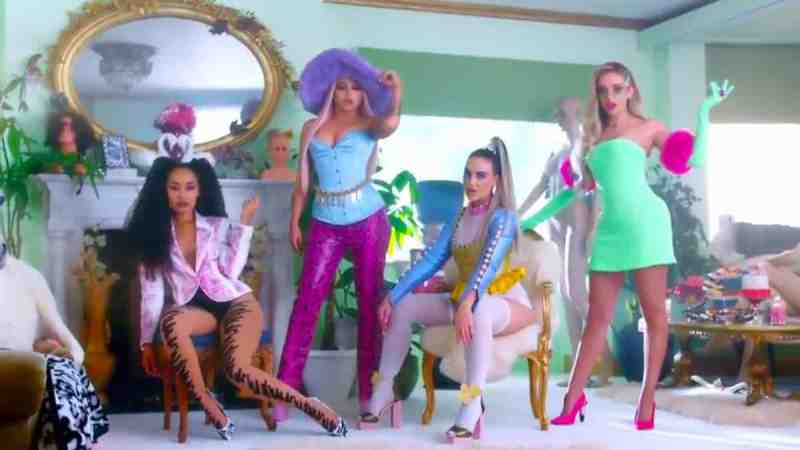 little mix bounce back music video