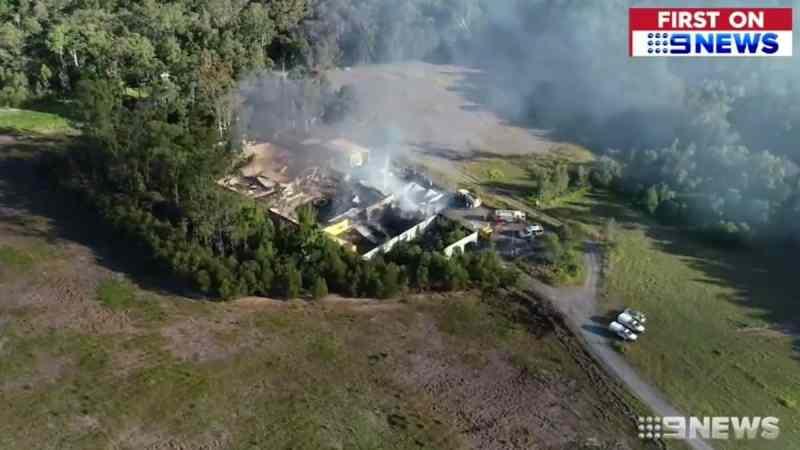 Big Brother Australia fire
